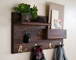 farmhouse wall mounted coat rack with