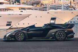 The 2014 lamborghini veneno roadster is one of the most exclusive cars in the world, with a production run of just nine units and a price tag of $4.5 million. Ultra Rare Lamborghini Veneno Roadster Is A Fighter Jet For The Road Carbuzz