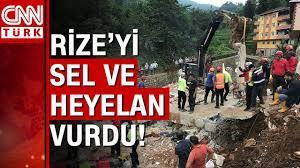 Rize'deki sel felaketinde ölü sayısı yükseldi! Rize'de son durum! - YouTube