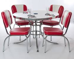 tables red retro kitchen table sets desjar interior how to also glass dining set tables