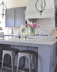 Super Practical And Really Stylish Brick Kitchen Backsplashes