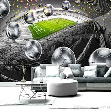 home improvement soccer field 3d poster backdrop decorative wall painting custom mural wallpaper for living room bedroom design canada 2018 from