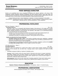 Resume Template Restaurant Manager Best Of Catering Resume Samples
