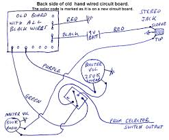 vintage bc rich wiring diagrams neal moser guitars fine custom vintage hand wired booster circuit