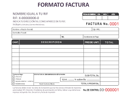 Formato Factura Magdalene Project Org