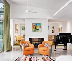 Sloped Ceiling Living Room Mid Century Modern Eclectic Living Room Living Room Modern With