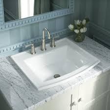 drop in bathroom sinks. archer drop self rimming bathroom sink 8\ in sinks m