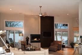 ceiling fans lighting fixtures and decorative hardware with polished nickel pewter or chrome finishes work well in a contemporary space