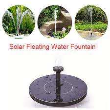 Solar Light Up Water Feature Us 4 53 45 Off 210l H Garden Solar Fountain Solar Water Fountain Garden Pool Pond Outdoor Solar Panel Floating Fountain Garden Decoration In