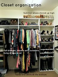 Organize A Small Bedroom Closet Use The Space Above Hangers You Have Pretty High Ceiling In There