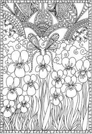 Small Picture Creative Haven Entangled Dragonflies Coloring Book Creative