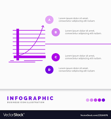 Arrow Chart Arrow Chart Curve Experience Goal Infographics