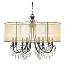 fabulous crystal chandelier canada drum crystal chandelier engageri