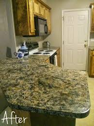 diy painted countertops decorating your small space diy faux granite countertops kits