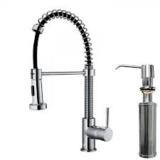 Kitchen Faucet Soap Dispenser Pull Down Spray Kitchen Faucet With Soap Dispenser