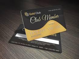 Membership Card Template Gold Membership Card Template Premium Print Design Download 1