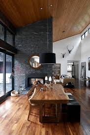 wooden house furniture. james houstonu0027s timber lake house in sullivan ny features bespoke wooden furniture the dining d