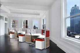 Modern office cubicles Workspace Curved Cubicles Thesynergistsorg Modular Office Furniture Modern Workstations Cool Cubicles Sit