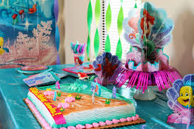 Ariel Cake Decorations Hot Mama In The City Under The Sea With The Little Mermaid Party