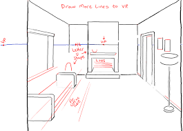 couch drawing side view. step06-perspective-drawing-inside-of-living-room couch drawing side view