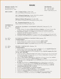 Resume Sample For Mechanical Engineering Student Best Mechanical