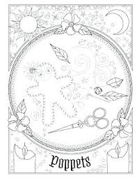 book of spells coloring shadows colouring amy cesari