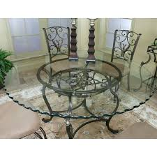 round glass dining table sets for 4 cramco j9811 4 wescot round glass top dining