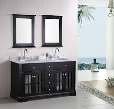 ... Sinks, Double Bathroom Sinks Lowes Double Sink Vanity Cottage Double  Sink Vanity 48 Inches 60 ...