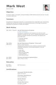 Maintenance Engineer Sample Resume 3 Aircraft Maintenance Engineer Resume  Samples