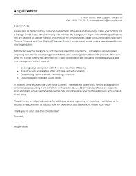 Accounting Resume Cover Letters Accounting Resume Cover Letter For Position Successmaker Co