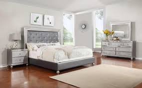 glass bedroom set within glam 4 piece queen rotmans group plan 10