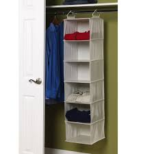 sturdy hanging closet organizer. Wonderful Closet Amazoncom Household Essentials 311312 Hanging Closet Organizer  6Shelves  Natural Canvas Home U0026 Kitchen In Sturdy