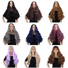 "<b>JOY&BEAUTY</b> 18"" Brown Women Wig Natural Wave Synthetic Hair ..."