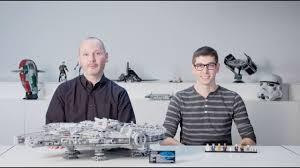 Lego Star Wars Designer Videos Lego Designer Videos Lego Star Wars Ultimate Collectors Series Millennium Falcon 75192