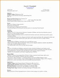 College Graduate Resume Template Awesome Resume For College
