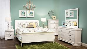 Patriot White Queen Bed Home Zone Furniture