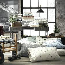 skier bedding ski slope flannel sheet set skier sheets bedding
