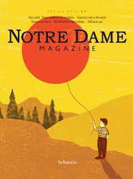notre dame magazine strategic content honored case awards notre dame magazine spring 2015 cover