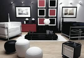 Red Black White Bedroom Ideas Black White Red Living Room Design Decobizz