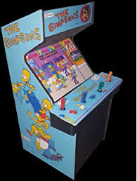 Amazon.com: Simpsons 4 Player Arcade Game: Sports & Outdoors