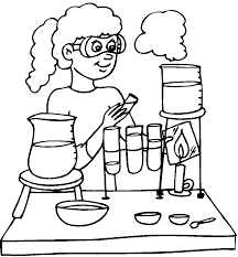 Coloring Pages Science Coloring Engineering Fantastic Printable