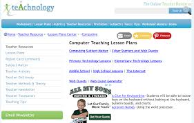 Elementry Lesson Plans Lesson Plans For Teaching Students Microsoft Office