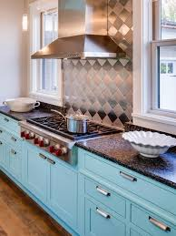 Benjamin Moore Spectra Blue Painted Kitchen Cabinets Interiors By