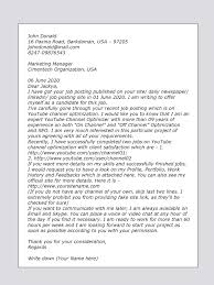 How To Write A Cover Letter Youtube Cover Letter Sample For Youtube Video Marketing Upwork Help