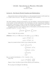 discrete wavelet transform essay physics this is only a preview