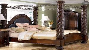 Bedroom Sets At Ashley Furniture Ashley Furniture North S Poster Bed Weeki Poster Bedroom Set Mhf