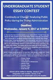 deadline undergraduate student essay contest jack d gordon image