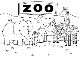 Zoo Animal Coloring Pages Coloring Pages