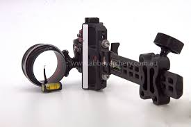 Axcel Accutouch Carbon Pro Single 019 Pin Slider Sight With X41