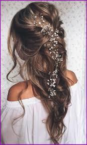 Coiffure Cheveux Bouclés Mariage 362699 Coiffure Longue